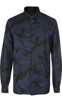 Принтованная рубашка с воротником кент Valentino