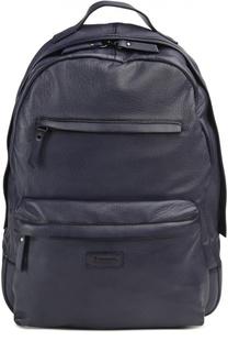 Кожаный рюкзак с карманами Raparo