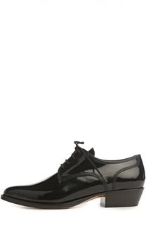 Лаковые ботинки Mexico с зауженным мысом Valentino