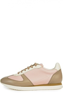 Кожаные кеды Windham на шнуровке Ralph Lauren