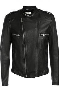 Кожаная куртка Saint Laurent