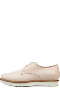 Кожаные ботинки Gomma на шнуровке Tod's