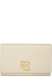 Кожаная сумка RL на цепочке Ralph Lauren