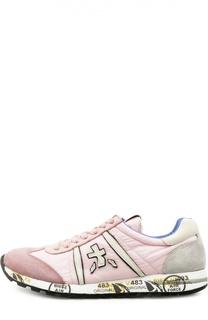 Кроссовки Lucy-D с принтом на подошве Premiata