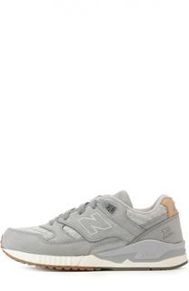 Нубуковые кроссовки 530 Grey New Balance