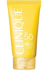 Солнцезащитный крем для тела SPF 50 Clinique