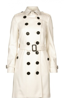 Пальто с поясом Burberry
