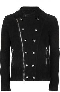 Замшевая куртка Giorgio Brato