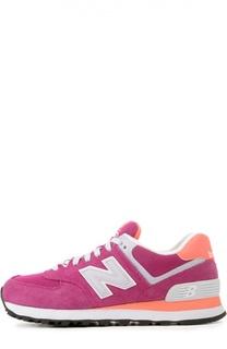 Замшевые кроссовки 574 Classic New Balance