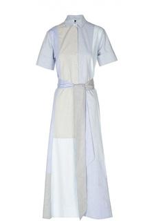 Платье-рубашка макси с поясом Lisa Marie Fernandez