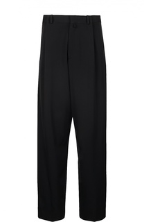 Широкие шерстяные брюки Dries Van Noten