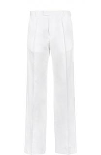 Широкие брюки из смеси хлопка со льном Dries Van Noten