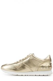 Кроссовки Sportivo из металлизированной кожи Tod's