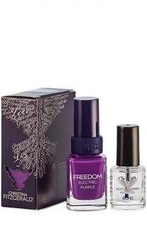 """Лак для ногтей Freedom """"Пурпурное сердце"""" и Bond-подготовка Christina Fitzgerald"""