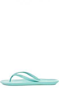 Резиновые шлепанцы с тиснением A. Testoni