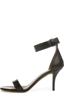 Кожаные босоножки с ремешком на щиколотке Givenchy