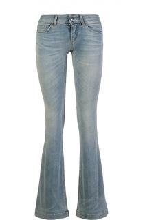 Расклешенные джинсы с потертостями Dolce & Gabbana