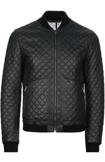 """Кожаная куртка """"Бомбер"""" Dolce & Gabbana"""