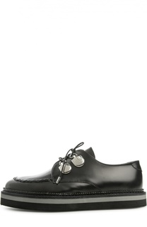Ботинки с зауженным мысом Alexander McQueen