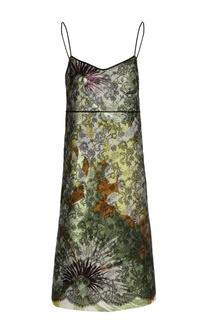 Двухслойное платье-комбинация Rochas