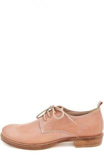 Кожаные ботинки на шнуровке Ann Demeulemeester
