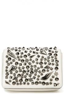 Сумка 440 Gallery Bellini Crazy с металлическими заклепками Diane Von Furstenberg