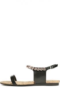 Сандалии Jodie с кристаллами Stella McCartney