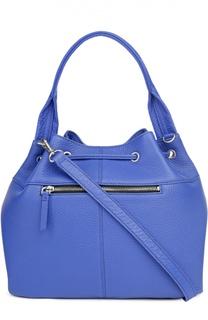 Кожаная сумка с одной ручкой DKNY