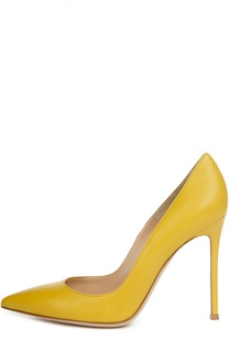 Кожаные туфли Gianvito 105 на шпильке Gianvito Rossi