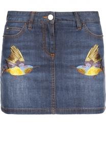 Юбка джинсовая Roberto Cavalli