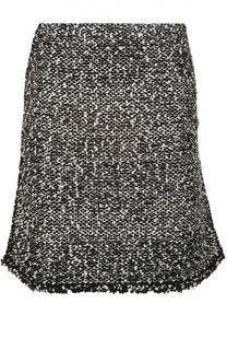 Буклированная мини-юбка с бахромой Balenciaga
