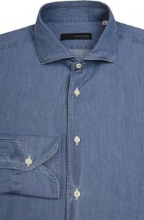 Рубашка из денима свободного фасона Stanbridge