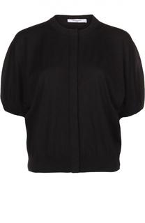 Шерстяной кардиган с укороченными рукавами Givenchy