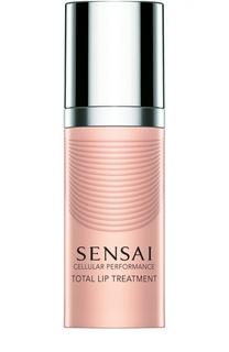 Восстанавливающий крем для губ Sensai