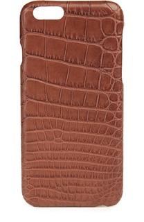 Чехол  для iPhone 6/6S из кожи аллигатора Hadoro