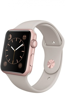 Apple Watch Sport 42mm Rose Gold Aluminum Case Apple