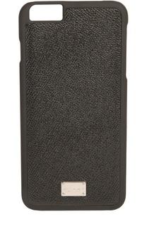 Кожаный чехол для iPhone 6/6S Plus Dolce & Gabbana