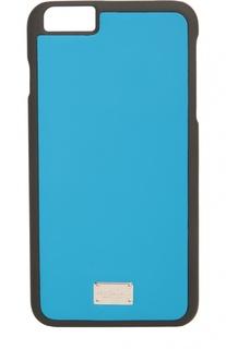 Кожаный чехол для iPhone 6 Plus Dolce & Gabbana