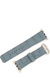 Ремешок для Apple Watch из кожи аллигатора Hadoro