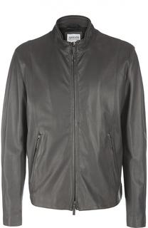 Куртка кожаная Armani Collezioni
