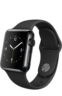 Apple Watch 38mm Space Black Stainless Steel Case with Sport Band Apple