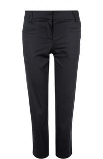 Хлопковые брюки-дудочки с карманами Giorgio Armani