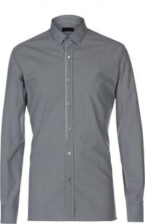 Приталенная рубашка в клетку Lanvin Contemporary