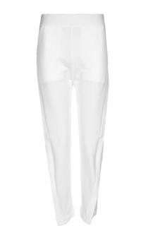 Хлопковые брюки с завышенной талией Acne Studios