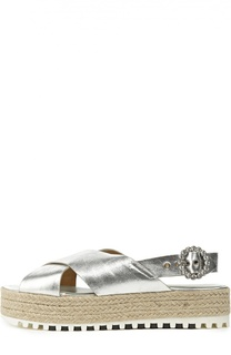 Кожаные сандалии на платформе Marc Jacobs