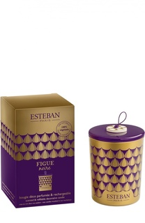"""Декоративная арома-свеча """"Черный инжир"""" Esteban"""