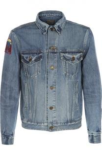 Куртка джинсовая Saint Laurent