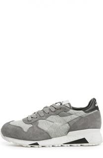 Комбинированные кроссовки на широкой подошве Diadora Heritage