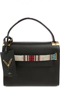 Сумка My Rockstud small с вышивкой бисером Valentino