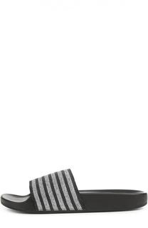 Текстильные шлепанцы Cooper с принтом Marc Jacobs